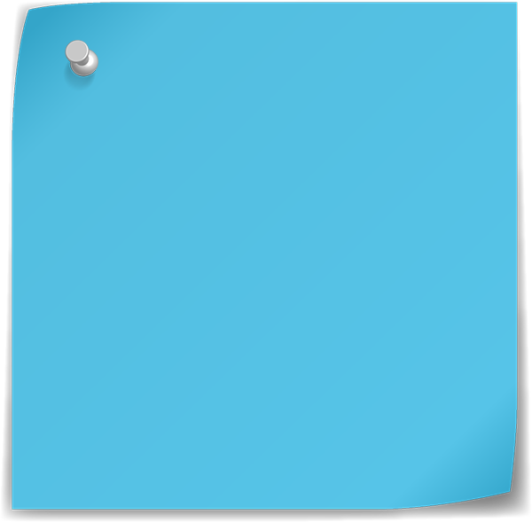 blue post it png www imgkid com the image kid has it sticky note clipart png sticky note clip art on menu